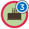 Tercer Cumpleaños